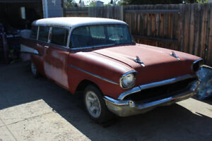 1957 Chevrolet, Chevy 2dr wagon