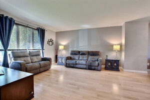 Single family home in the West Island for rent