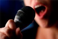 Cours de chant a prix abordables!