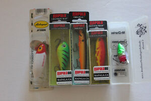 Mix set of 5 lures all new