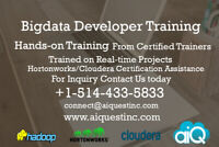 Bigdata Developer Training - Register Your Spot Today,Hurry!
