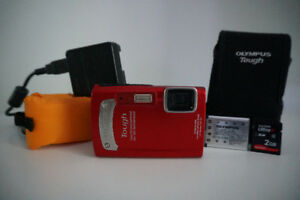 Olympus Tough Waterproof Shockproof Camera including Extras