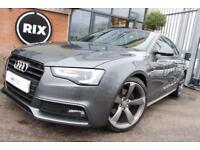 2012 62 AUDI A5 2.0 TDI S LINE BLACK EDITION 2D-2 OWNER CAR-WELL MAINTAINED EXAM