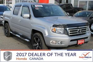 2014 Honda Ridgeline TOURING only 25,238 kms