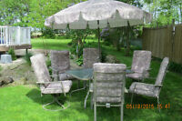 -----------Complete 15 Piece Aluminum Patio Set -------------