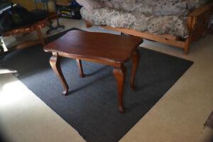 Elegant solid wood end table $85