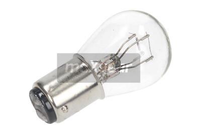 10 st 78-0021SET MAXGEAR P25 BA15D Vision mehr Licht Halogenlampe 12V/21/5W