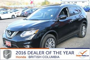 2014 Nissan Rogue SL, AWD, Low KMs, Leather, Sunroof, Alloy