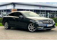 2013 Mercedes-Benz C Class C250 CDI BlueEFFICIENCY AMG Sport 2dr Auto Coupe Dies