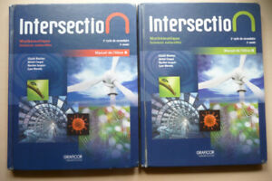 intersection mathématique - sc. naturelles- manuel a & b