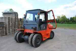 15,500 lb. Diesel Forklift with Cab
