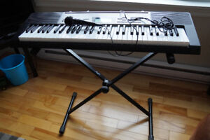 Casio Music Keyboard LK-240 with Stand and Microphone