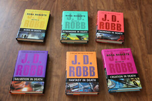 J.D. Robb Hardcovers