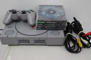 Sony Playstation 1 Bundle 5 Games PS1
