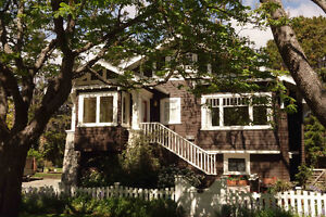 Furnished. South Oak Bay Character Home