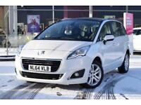 2014 PEUGEOT 5008 Peugeot 5008 1.6 HDi Active 5dr [Panoramic Sunroof + Leather]