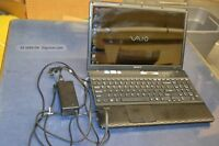 Sony Vaio 4gb ram / dual core/ 4g ram/ 320gb hdd/hdmi/cam/dvd