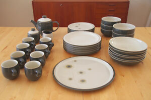 Denby - 6 place settings plus extras