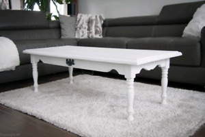 Table salon style shabby chic / coffee table