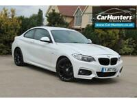 2017 BMW 2 Series 2.0 220D M SPORT 2d 188 BHP Coupe Diesel Automatic