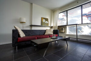 Furnished 3 1/2 condo downtown Montreal amazing location