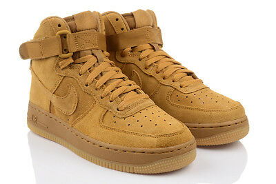 NIKE AIR FORCE 1 HIGH LV8 GS Damen Jungen High Top Sneaker Turnschuhe Unisex  (Nike Schuhe High Tops Jungen)