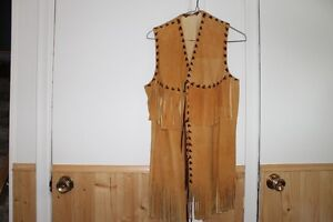 deer skin vests