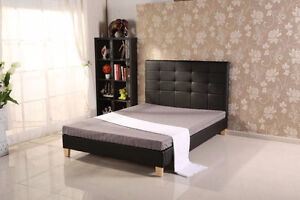DELUXE Double size Bed Frame & Mattress