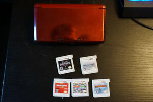 Red 3DS + Games