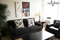 FURNISHED - Two Bed Room Apartment near Robson