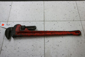 **HAND TOOL** Rigid 24 in. Heavy-Duty Straight Pipe Wrench -189