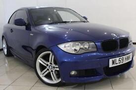 2009 59 BMW 1 SERIES 2.0 120D M SPORT 2DR 175 BHP DIESEL