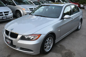 2007 BMW 3-Series 323i Sedan - Excellent Condition - Certified!