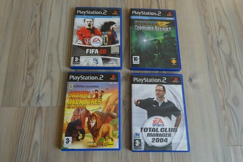 Gry Playstation 2, zestaw gier PS2