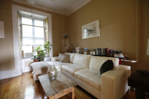 Stunning, fully-furnished, 850 sq ft 1 bedroom w/ Terrace
