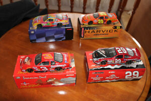 Dale Earnhardt Sr and Kevin Harvick 1/24 die cast