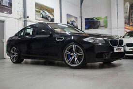 BMW M5 4.4 DCT, 13 Reg, 42k, Black Sapphire, Big Spec, Head Up, Nav, Sunroof Etc