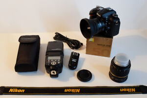 Nikon D7100 (Great Condition -- 8055 Shutter Count)