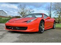 2012 Ferrari 458 Spider 2dr Auto Sports Petrol Automatic