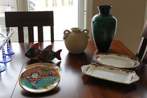 Vases / Platters / Cat plates / Decorative fish