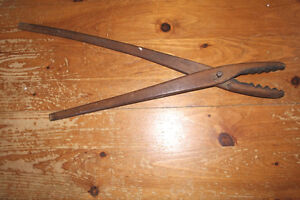 Old Antique Wooden Laundry Tongs - Great for Display London Ontario image 1