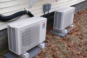 Air conditioning and Heat pump repair central or wall unit West Island Greater Montréal image 7