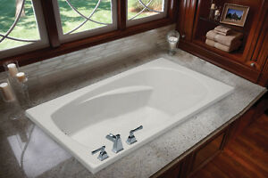 "MIROLIN HUDSON 5 60"" SOAKER TUB LIQUIDATION"