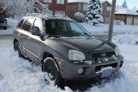 2004 Hyundai Santa Fe GLS SUV, Crossover