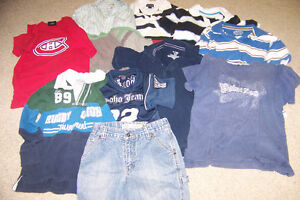 Vêtements garçon grandeur 8 ans West Island Greater Montréal image 1