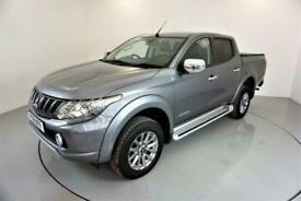 2018 Mitsubishi L200 2.4 DI-D 4-WD WARRIOR DCB 5d AUTO-1 OWNER FROM NEW-HEATED B