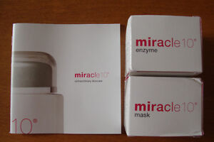 New, Miracle 10  Extraordinary Skincare enzyme and mask