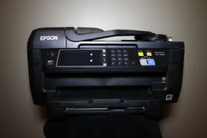 EPSON Printer WF-2660 - NEW BLACK INK + PAPER INCLUDED