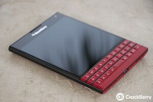 Brand new unlocked Red blackberry passport for sale/trade