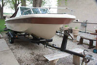 1980  Newport Boat With Evinrude 1970 Outboard Motor and trailer